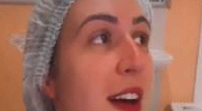 Enfermeira que debochou da vacina coronavac é demitida do hospital