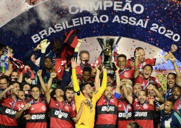 """""""Outro patamar"""": Flamengo é o campeão do Brasileirão 2020"""