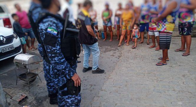 Força-tarefa recebeu 370 denúncias e realizou 10 notificações no carnaval