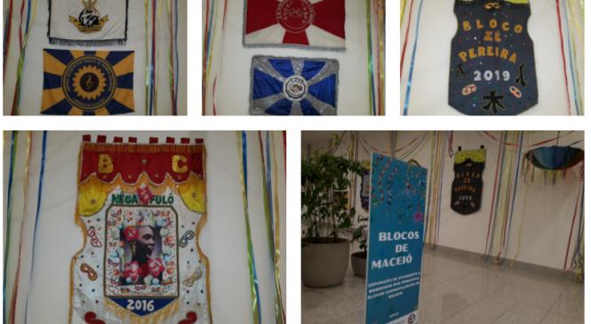 FMAC e Parque Shopping abrem a exposição Blocos de Maceió