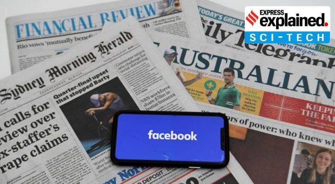 Facebook bane compartilhamento de notícias na Austrália