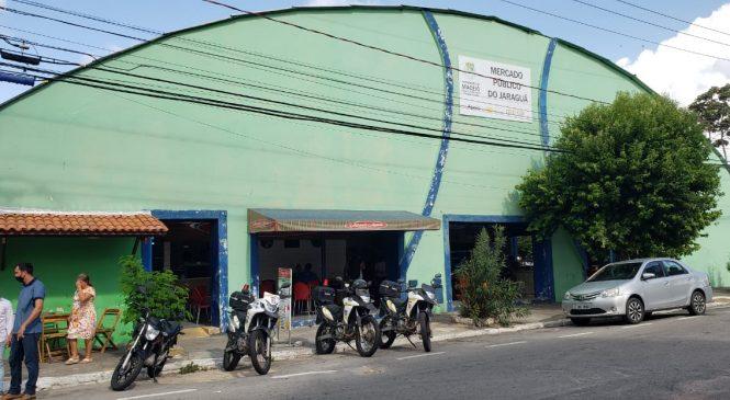 Mercado de Jaraguá recebe nesta sexta primeiras ações de mutirão de limpeza