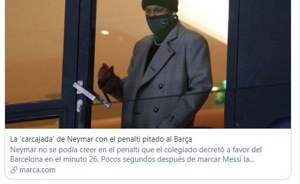 Neymar tuíta saída de Nego Di no BBB, jornal espanhol se perde na tradução e enxerga racismo em post