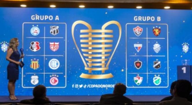 CBF sorteia grupos da Copa do Nordeste e CSA e CRB já conhecem seus adversários