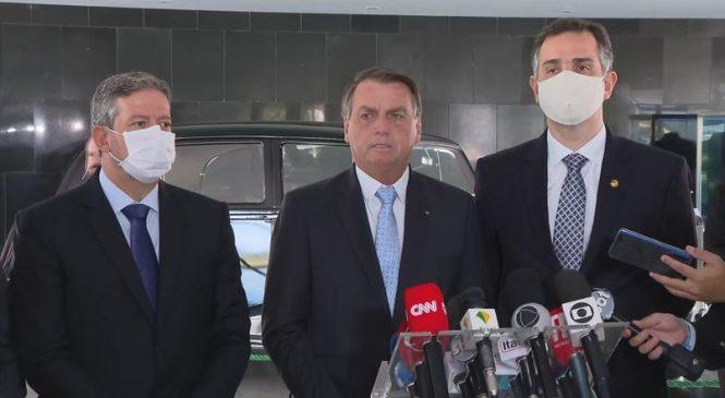 Posse de arma e fim de punição na GLO: Bolsonaro pauta prioridades no Congresso