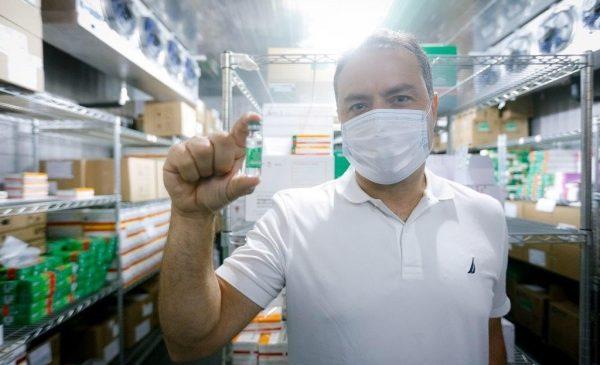 Renan Filho estará em Brasília durante votação da MP que facilita compra de vacinas