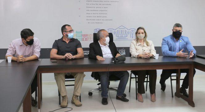 Em reunião com Abrasel, Prefeitura reforça apelo para cumprimento de decretos no carnaval