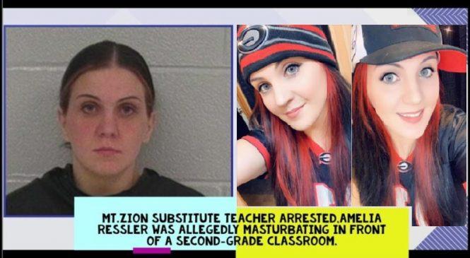 Professora substituta é presa por se masturbar na frente de alunos da segunda série