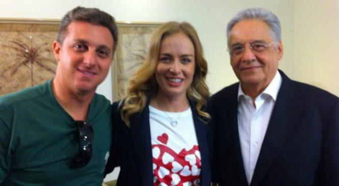 Tucano FHC já faz campanha para Luciano Huck, presidente