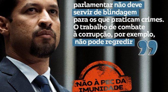 Senador Rodrigo Cunha condena PEC da impunidade proposta pela Câmara dos Deputados