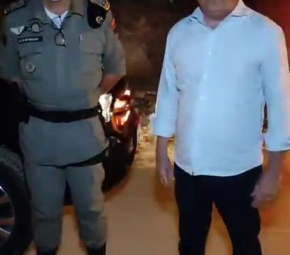 Alfredo Gaspar anuncia que PM ocupou Conjunto Village Campestre