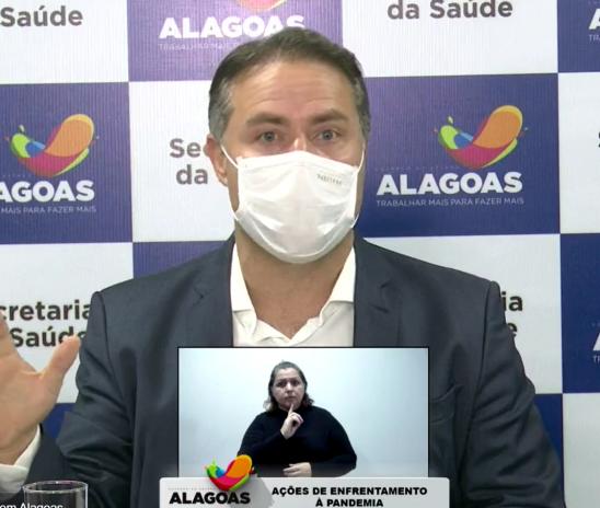 Governo de Alagoas coloca Agreste e Sertão para áreas vermelhas devido a Covid