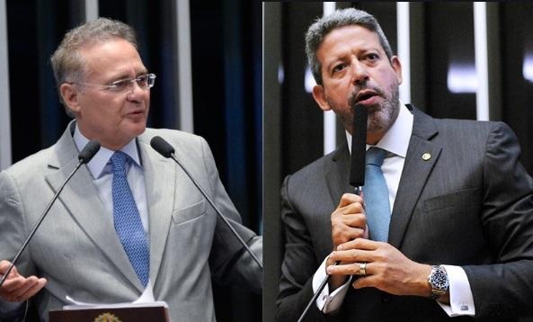 Renan Calheiros e Arthur Lira comentam suspeição de Moro: máscara caiu e sem perdão