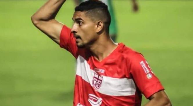 Atacante Daniel Amorim rescinde com o CRB sem marcar gols