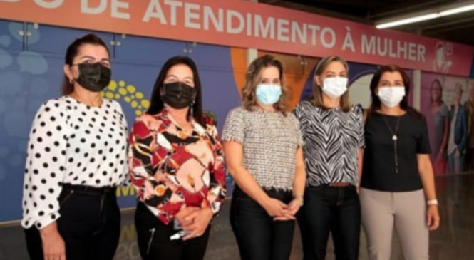 Deputadas da ALE conhecem equipamentos de combate à violência contra mulher em visita técnica a Brasília