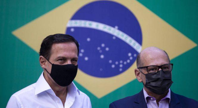 Butantan não tem data para retomar produção da Coronavac; Doria culpa Bolsonaro