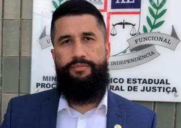 Vereador Delegado Fábio Costa protocola no MPE/AL denúncias contra Máfia da Metralha