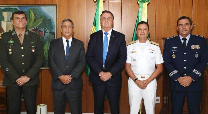Governo anuncia os novos comandantes militares das Forças Armadas