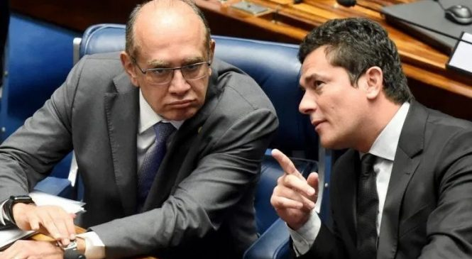 Gilmar Mendes pauta suspeição e Moro será julgado nesta terça