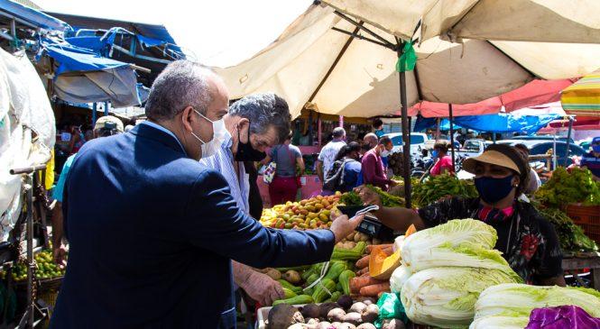 Mercado da Produção abre em horário estendido para compras da Semana Santa