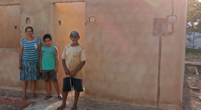 Incra de Alagoas constrói casas para famílias assentadas