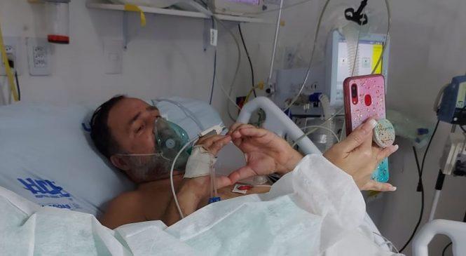 HGE investe na humanização para manter laços entre pacientes com Covid-19 e familiares