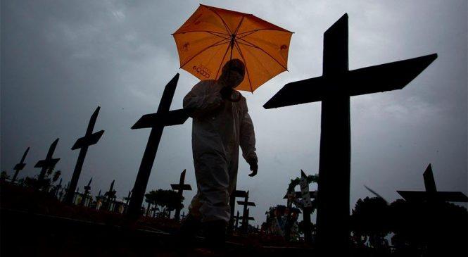 Tragédia anunciada: Brasil soma mais de 4.100 mil mortos em 24 horas