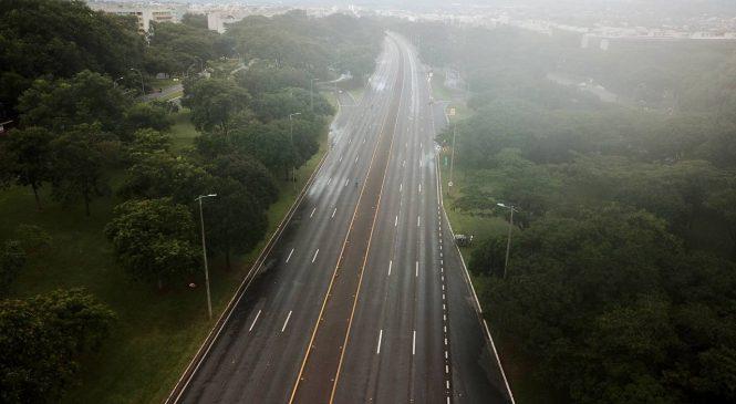 Brasília fechada: Lockdown foi decretado neste domingo  para conter a Covid