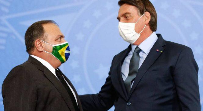 CNN diz que Bolsonaro pretende criar novo ministério para Pazuello
