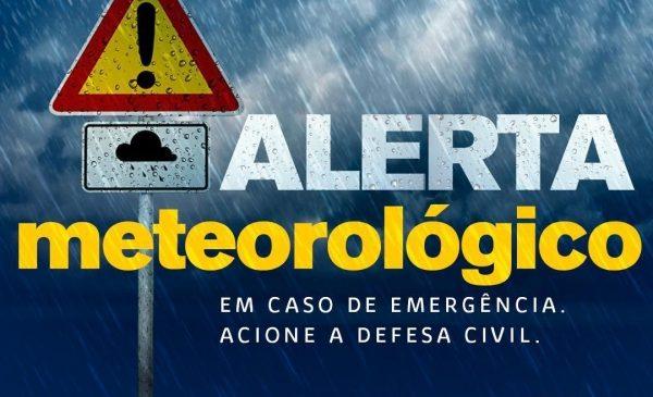 Sala de Alerta emite novo avisocom previsão de mais chuvas para os próximos dias