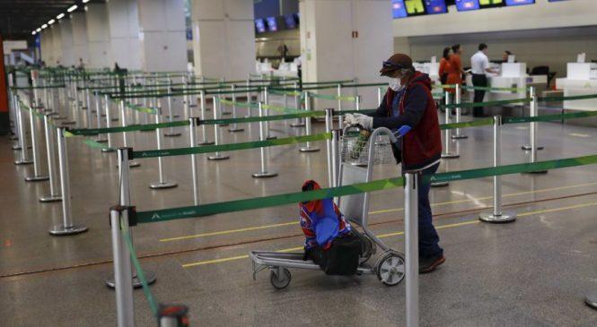 Bolívia, Argentina e Peru fecham fronteiras com o Brasil e Chile fecha aeroportos
