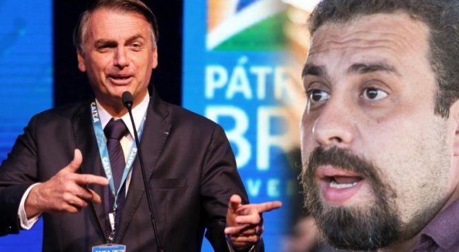 """PF investiga Boulos por """"ameaçar"""" Bolsonaro e já marca depoimento"""