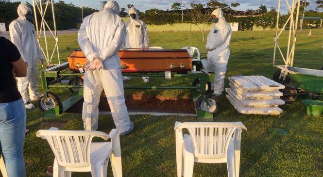 Maioria dos mortos por Covid-19 no Brasil tinha menos de 60 anos
