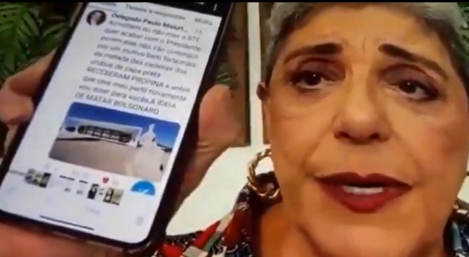 "Leda Nagle lê fake news de ""Lula conspirando para matar Bolsonaro"" e pede desculpas após viralizar"