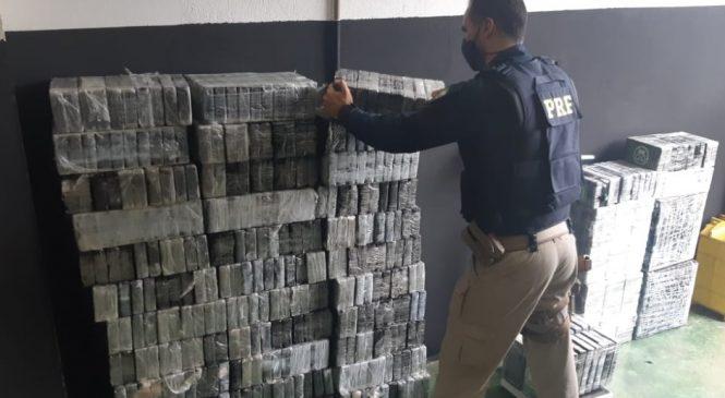 PRF de Alagoas retira de circulação 540 Kg de cocaína na BR 101 em São Miguel dos Campos