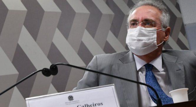Renan Calheiros promete 'cruzada contra agenda da morte' na CPI