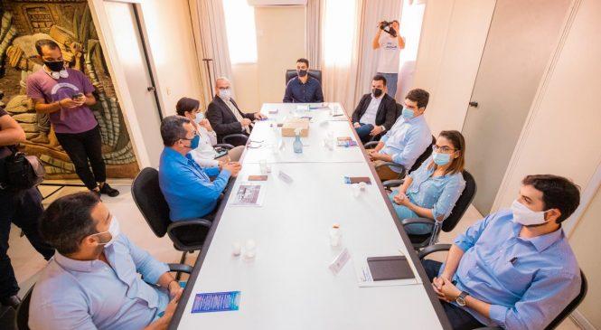 JHC e Fecomércio discutem parcerias para Maceió