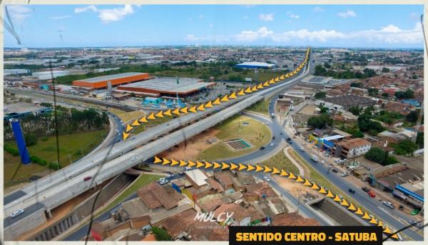 Segundo túnel do Viaduto da PRF será interditado a partir desta terça