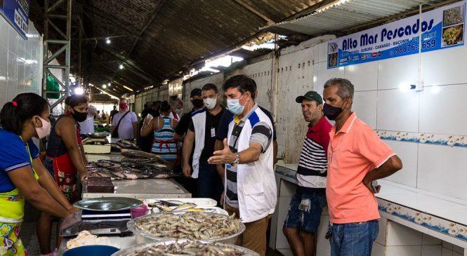 Mercado do Tabuleiro recebe mutirão de limpeza e sanitização na próxima semana