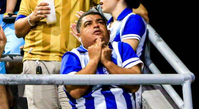 Eliminação do CSA na Copa do Brasil trouxe prejuízo, tristeza e dor
