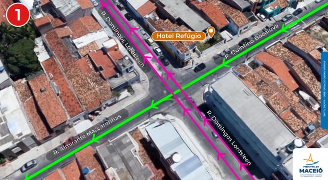 SMTT altera trânsito de ruas internas da Pajuçara