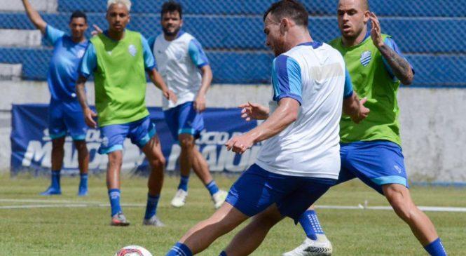 CSA estreia na Serie B enfrentando o Náutico nesta sexta