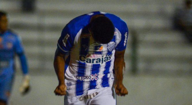 CSA marca no final e arranca empate com o CSE no jogo de ida da semifinal do Alagoano