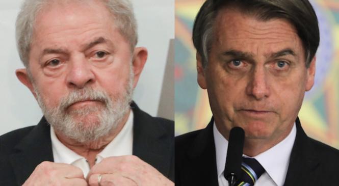 Datafolha: Lula lidera com folga corrida eleitoral de 2022