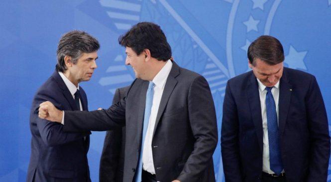 Mandetta e Teich depõem na CPI sobre ações e desmandos do governo nesta terça