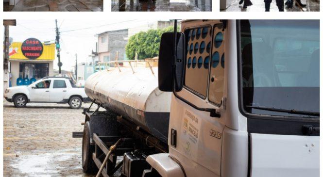 Mutirão no Mercado do Jacintinho recolhe 18 toneladas de lixo e melhora rede de esgoto