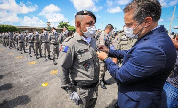 Alagoas forma 811 praças e anuncia edital para novo concurso da Polícia Militar