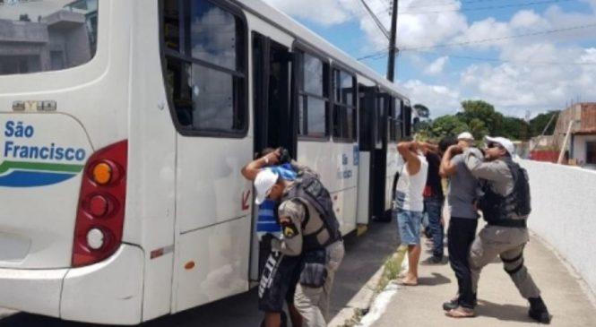 Não houve ocorrências de assaltos a ônibus em Maceió no mês de abril