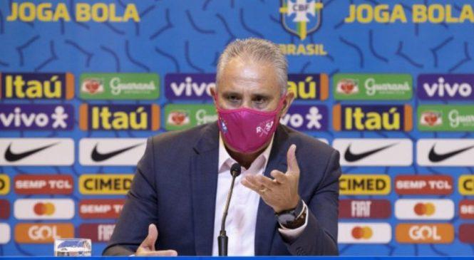 Tite anuncia Seleção para Eliminatórias da Copa