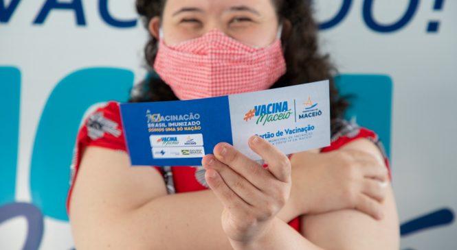 Prefeitura de Maceió antecipa vacinação para portadores de comorbidades com 57 anos
